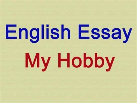 write an easy essay on my hobby airport